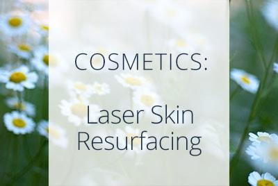 Cosmetics, Laser Skin Resurfacing, Menopause Center Los Angeles