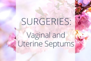 Surgeries, Vaginal and Uterine Septums, Los Angeles Gynecological Surgeon Thais Aliabadi