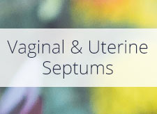 Vaginal and Uterine Septums