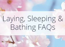 Laying, Sleeping and Bathing During Pregnancy FAQs