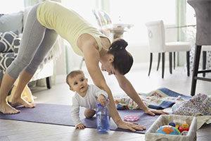 Yoga after Pregnancy, Dr Thais Aliabadi OBGYN Los Angeles