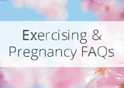 Exercising During Pregnancy FAQs