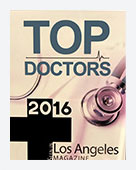 2016 Top Doctors Los Angeles Magazine
