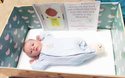 Put your baby to sleep in a box? A Finnish idea is winning US converts and saving lives