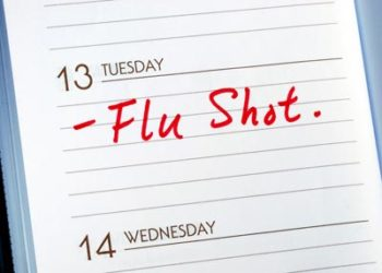 Germs in House Flu Shot
