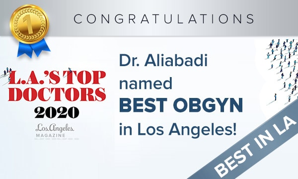 Dr. Aliabadi named top OBGYN by Los Angeles Magazine