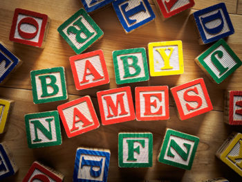 It's that time again! This Year's Top 50 Baby Names (thus far)
