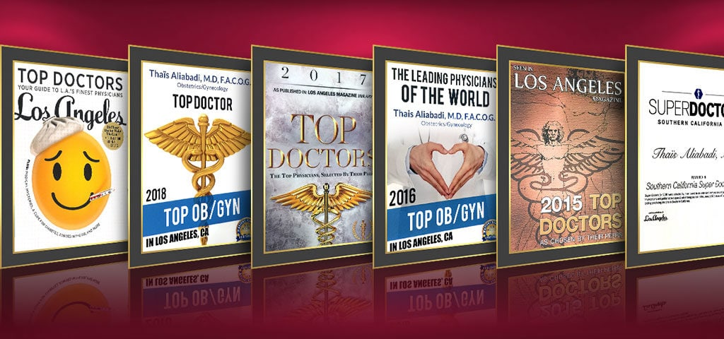 Year After Year, Voted as One of the Top Physicians, OB-GYNs and Gynecological Surgeons in the World