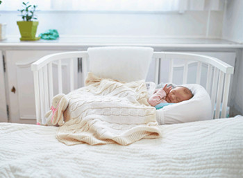 Sleeping with your baby, Sidecar bed, Dr. Thais Aliabadi Los Angeles OBGYN
