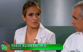 Dr. Thais Aliaba di, Los Angeles Gynecologist and Obstetrician